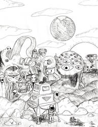 Life on Mars by William-John-Holly