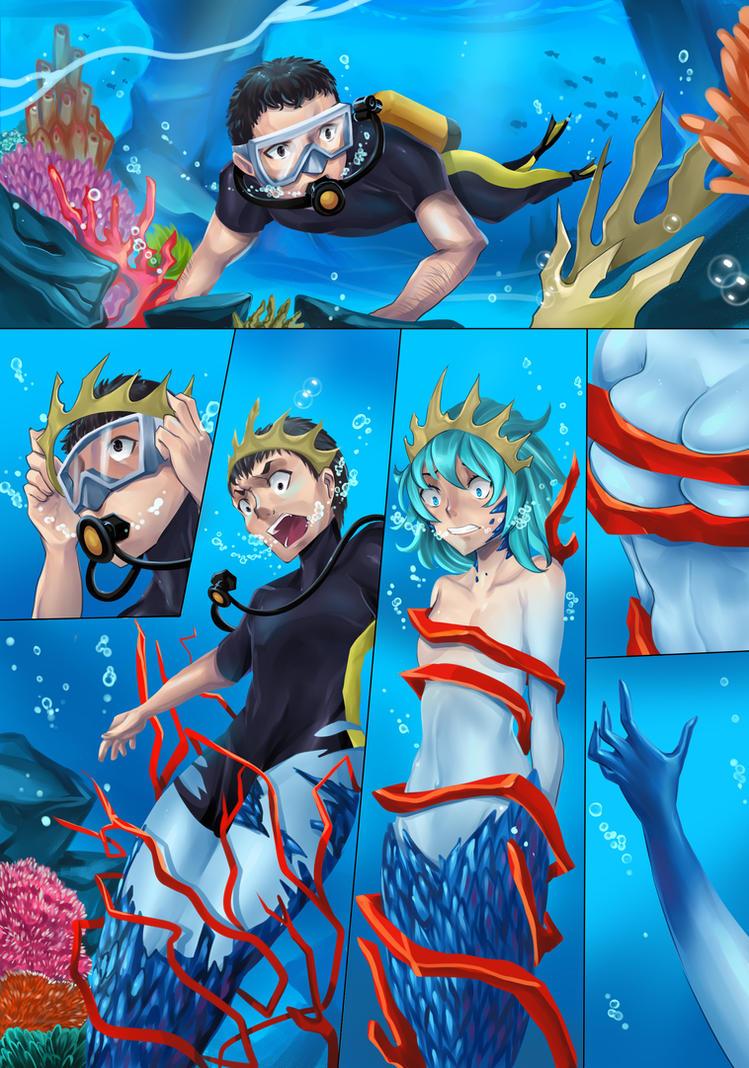 Mermaid Transformation...