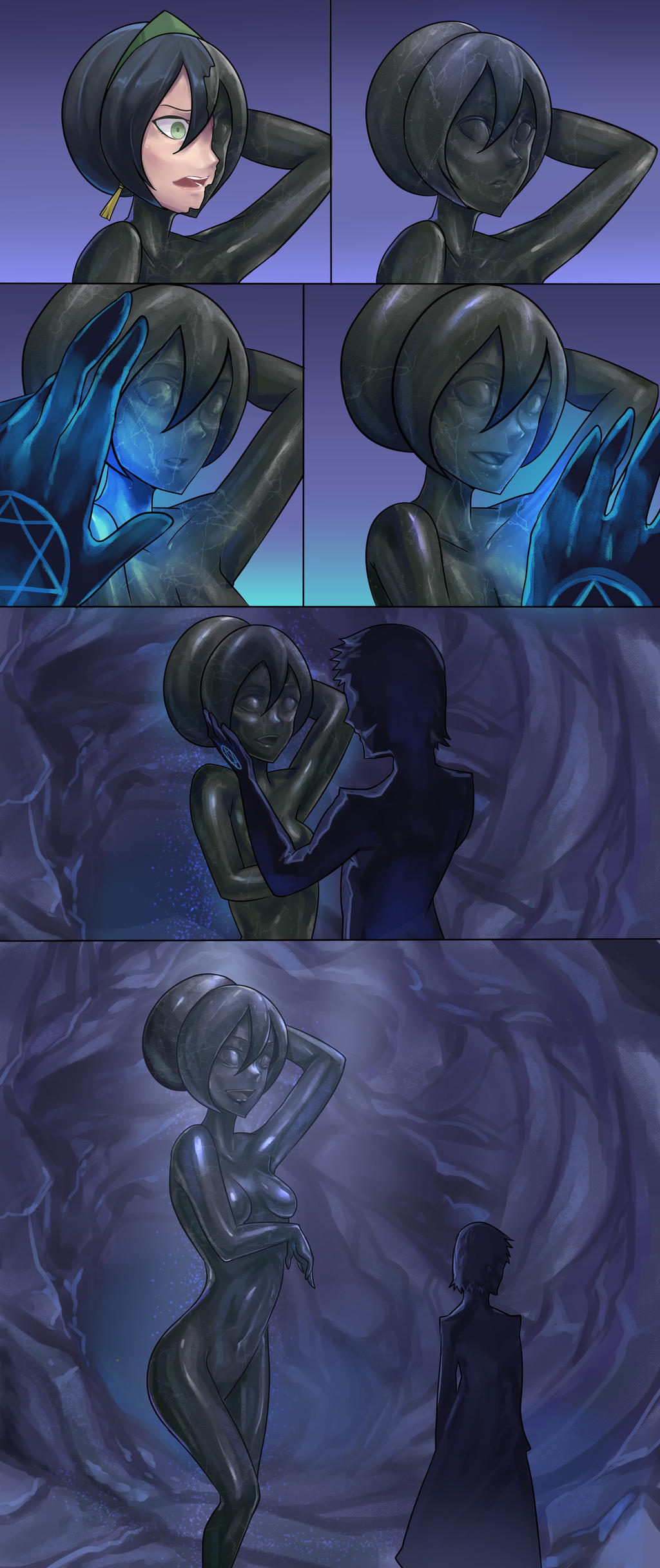 toph bei fong (avatar and 1 more) drawn by ibenz009   Danbooru