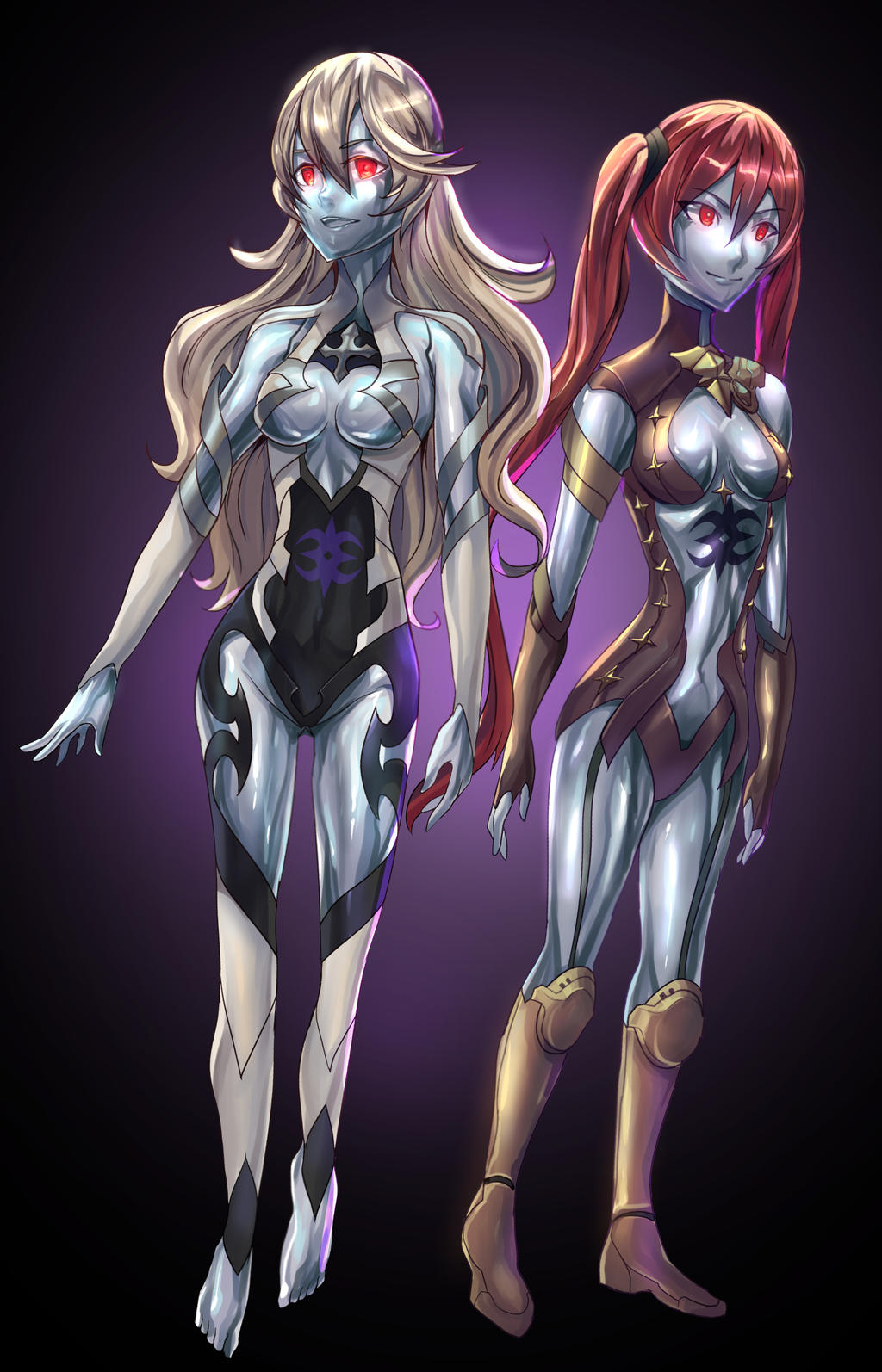 [FE]Golem robot Corrin and Severa