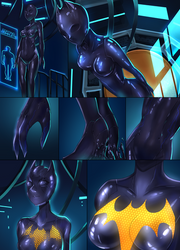 Batgirl beyond suit up P3 by ibenz009