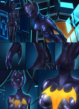 Batgirl beyond suit up P3