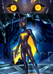 Batgirl beyond suit up P4 by ibenz009