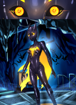 Batgirl beyond suit up P4
