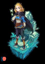 Zelda new look by ibenz009