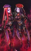 VC4 Kai and Minerva roboticized