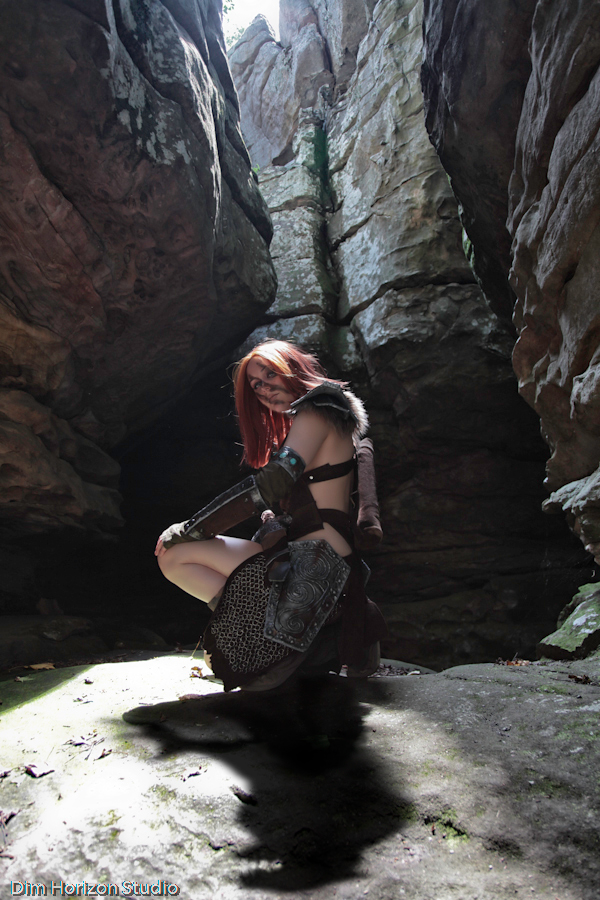 Aela the Wolf by LyddiDesign on DeviantArt