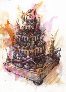 The Nine Cake