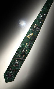 Fighting Soul Decay Tie