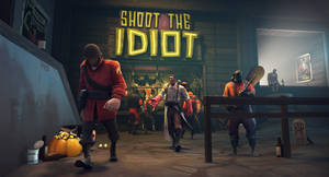 Shoot the idiot by dobrapozitiva