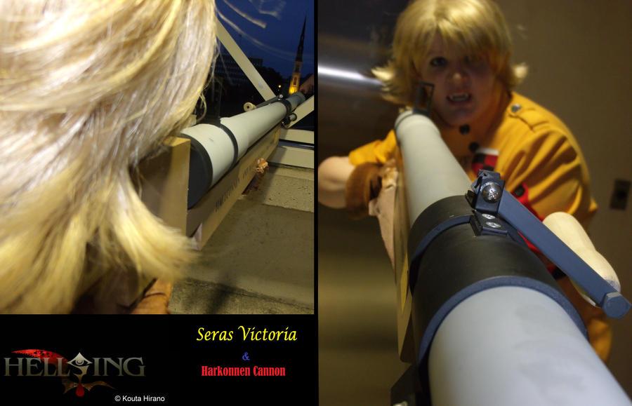 Seras Victoria - Harkonnen Cannon by TheBeastInBeauty on DeviantArt