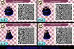Animal Crossing - Blue Rose Goth - Gothic Dress