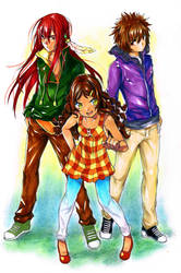 Semi: Kura, Talon and Minoru