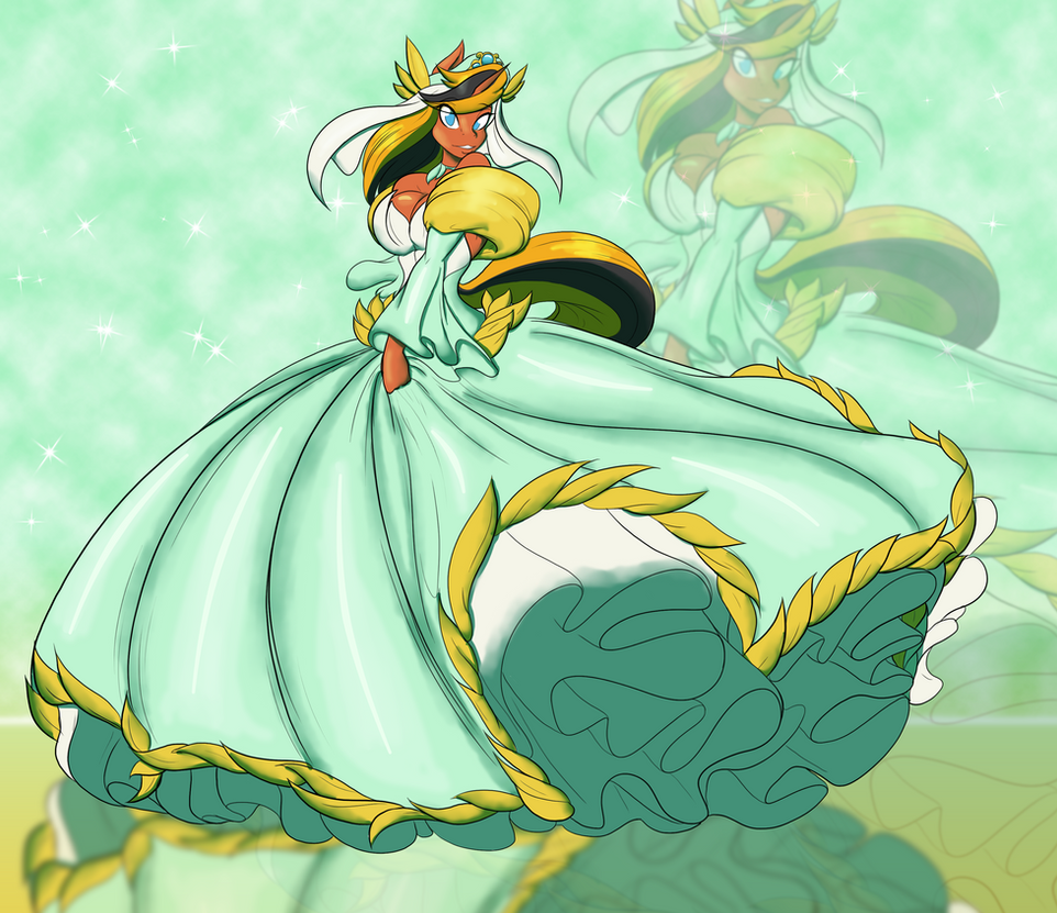 (Coloured) The Celestial Maiden by Ponyguy67