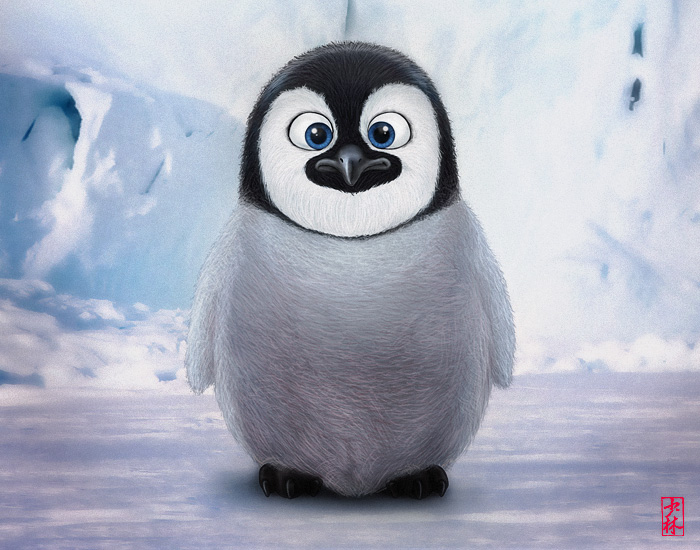 cute pinguin baby