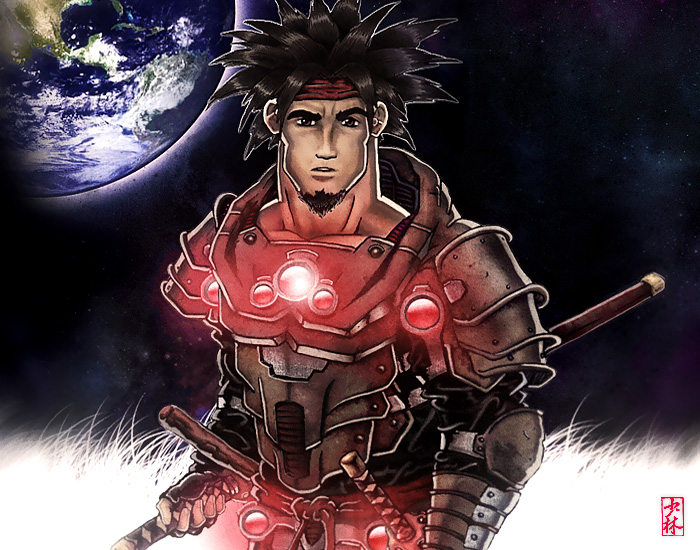 Modern Samurai Warrior