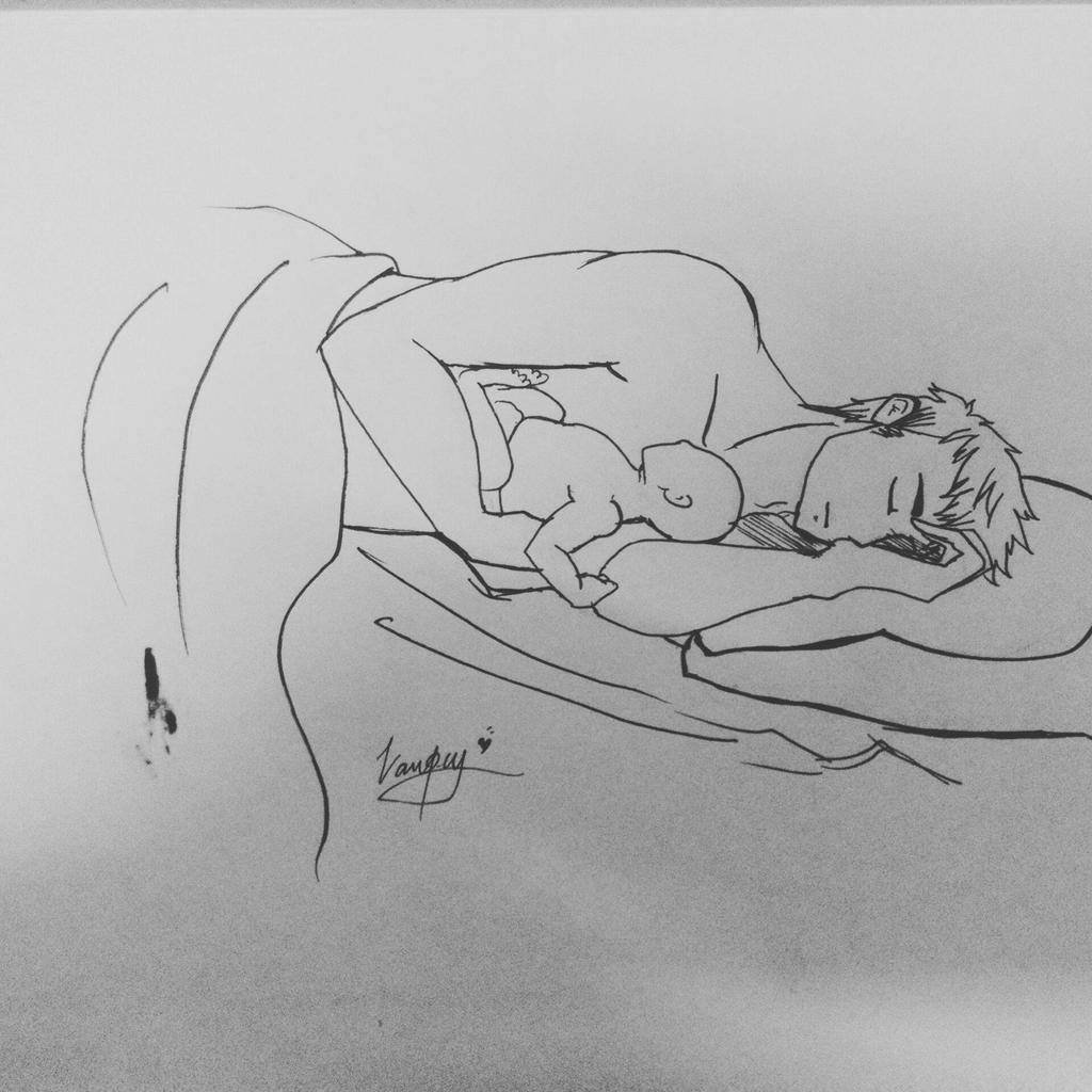 Aph Sweden Sleeping With His Child By Yumivampy On DeviantArt