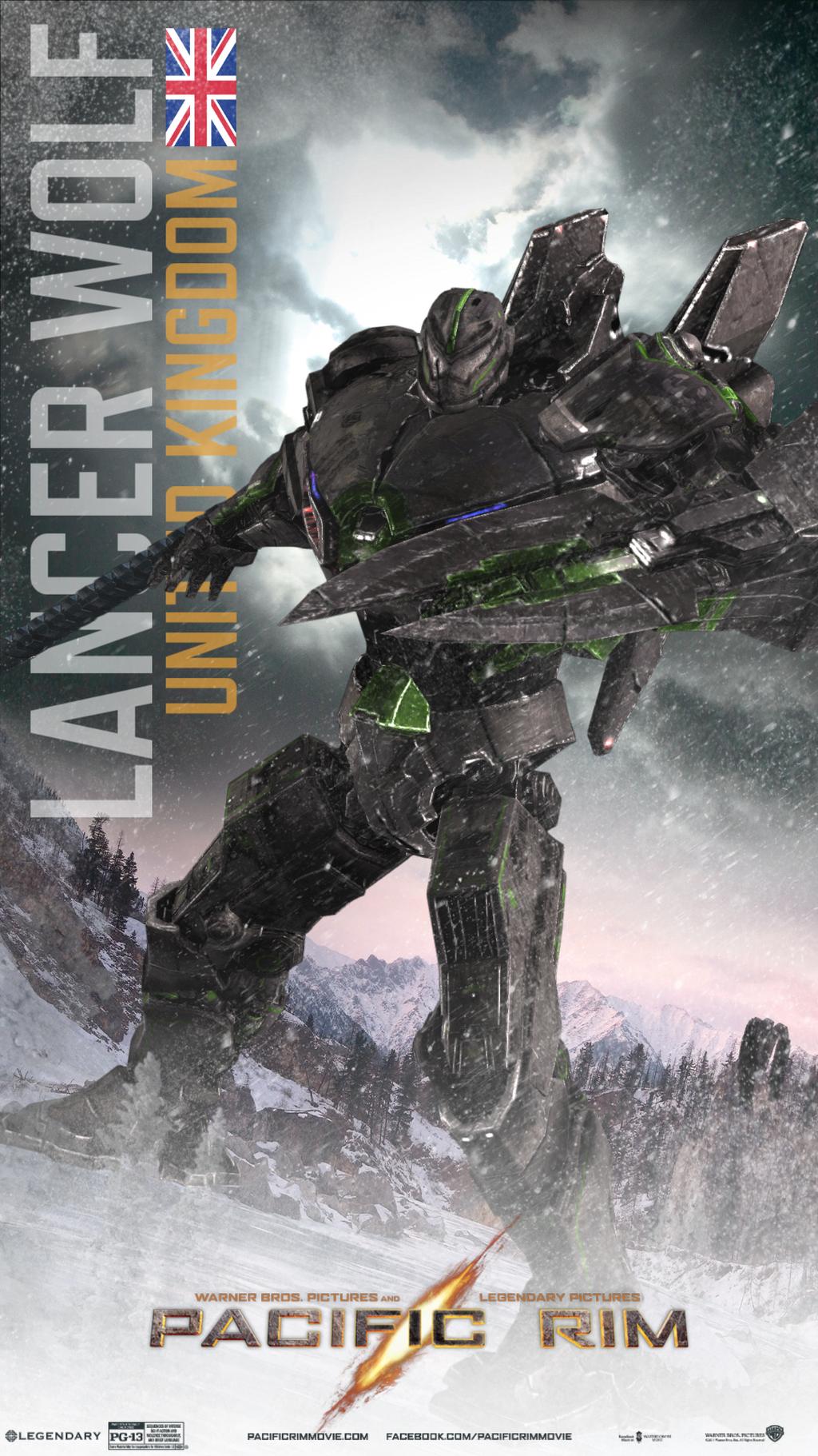 Jaeger Design- Lancer Wolf by KAIJUGOD on DeviantArt Pacific Rim Jaeger Names