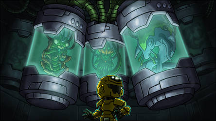 The Pit: Stasis Chamber by GoldenYak