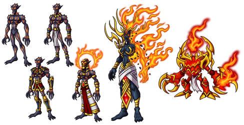 Creature Concepts - Vegathis by GoldenYak