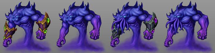 World of Warcraft - Voidwalkers by GoldenYak