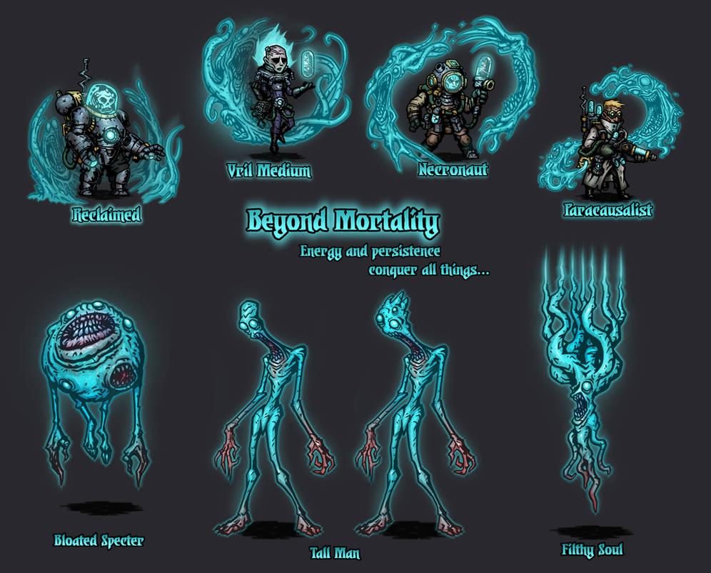 Darkest Dungeon Mod Concept | Beyond Mortality by GoldenYak