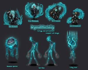 Darkest Dungeon Mod Concept | Beyond Mortality