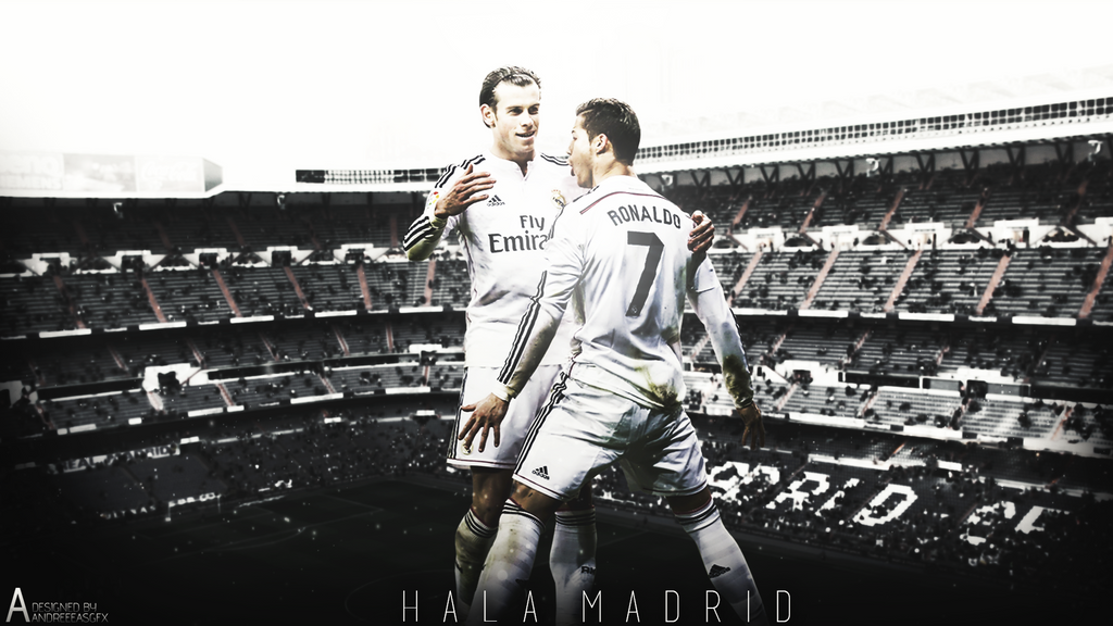 Ronaldo And Bale Celebration By AndreeeasGFX
