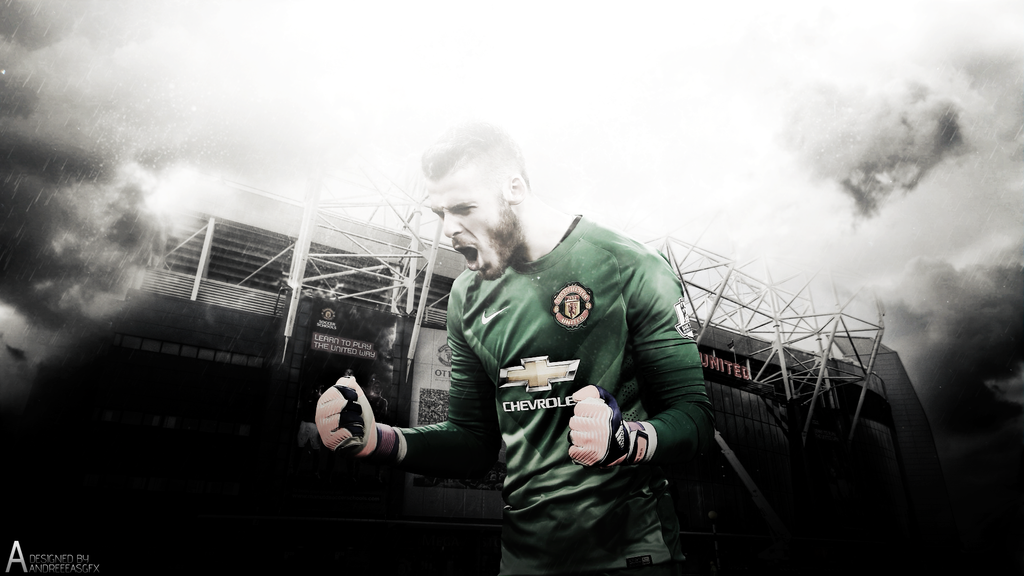 David De Gea Wallpaper By AndreeeasGFX On DeviantArt
