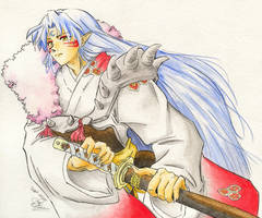 Sesshomaru by Eeni