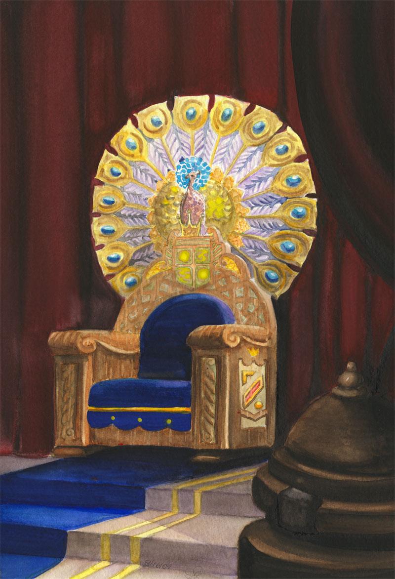 Royal Throne By Eeni On DeviantArt