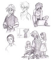 GundamW doodles