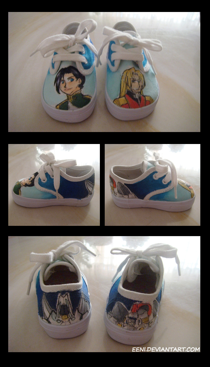 GundamW Baby Shoes by Eeni
