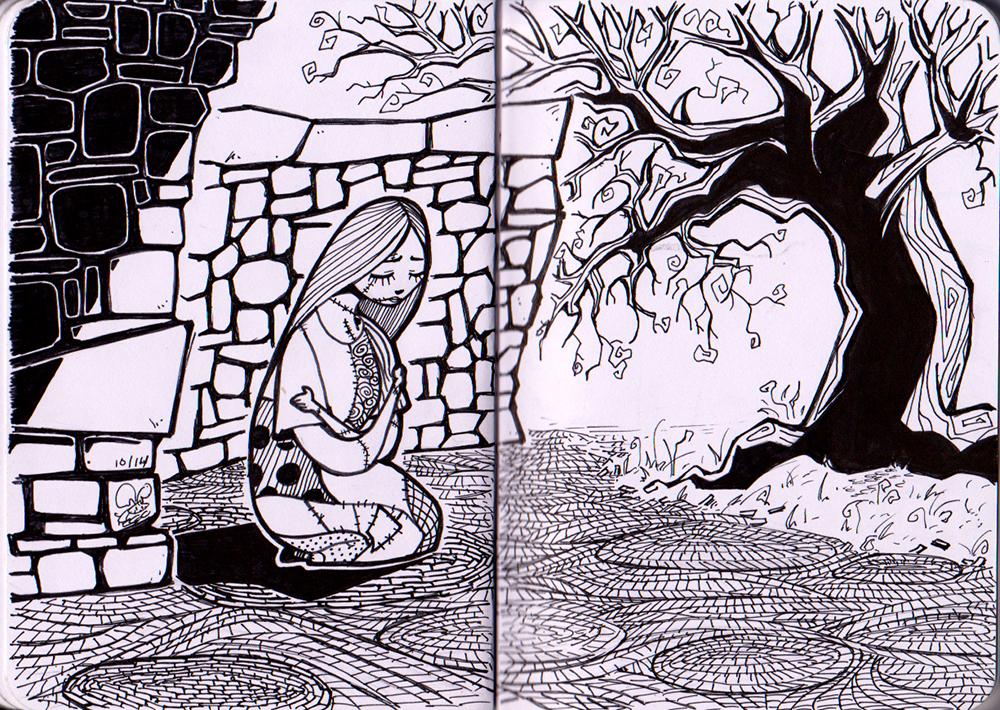 Doodles 20141022 by Eeni