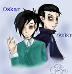Oskar and Stoker