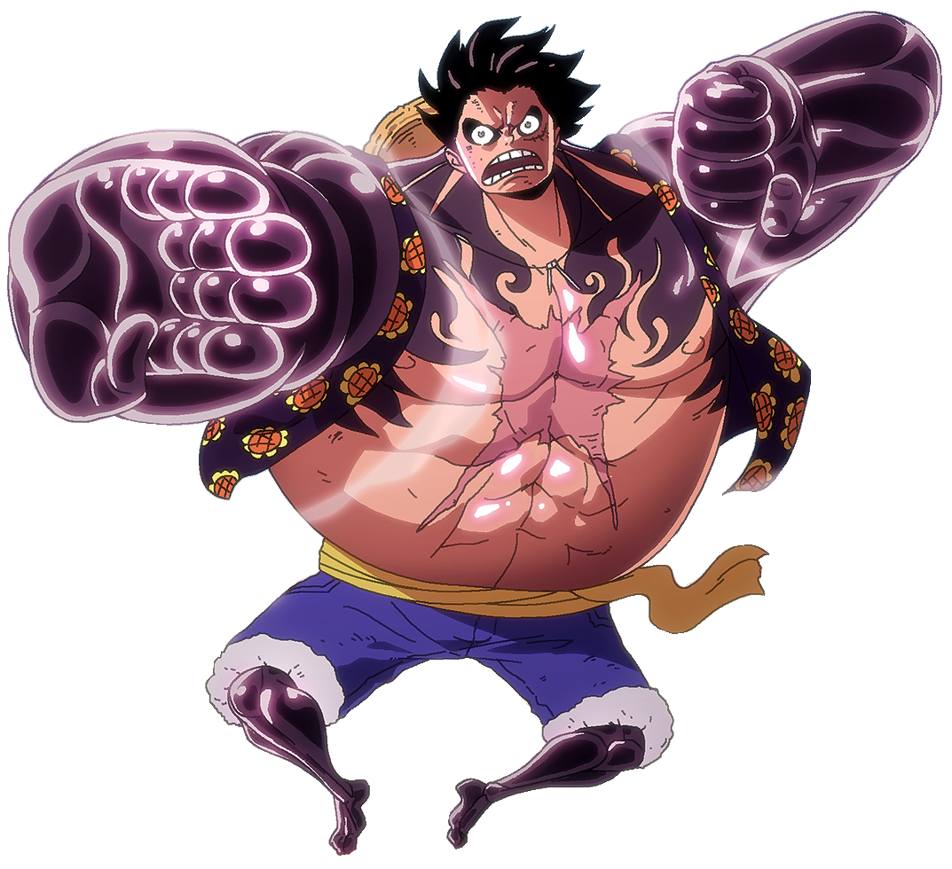 Gear Fourth Luffy Render By Cronustitan On DeviantArt