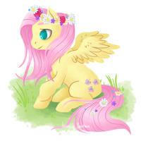 Floral pony by PetiteLaSouris