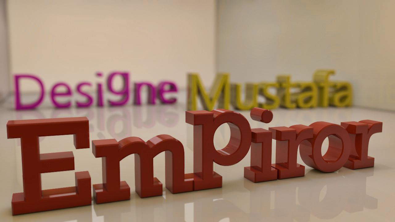 Empiror Mustafa Desgne  2013 by msk11