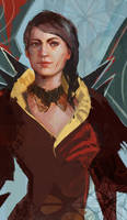 Lady Pentaghast by Zydaline