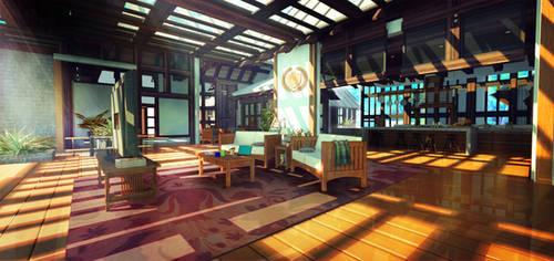 Tropical Resort (Visual Novel) by Zydaline