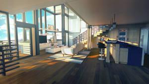 Apartment - Day by Zydaline