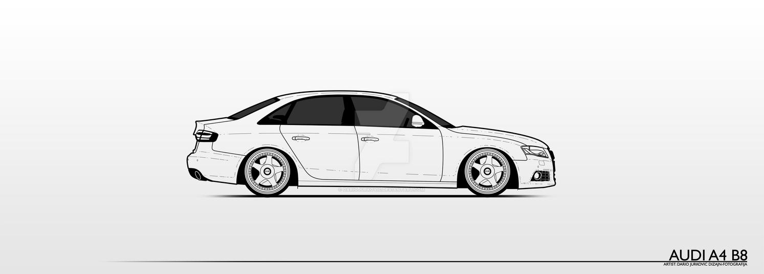 Audi A4 B8 By Dariojurkovic On Deviantart