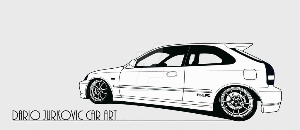 Honda Civic EK9 Type R by DarioJurkovic on DeviantArt