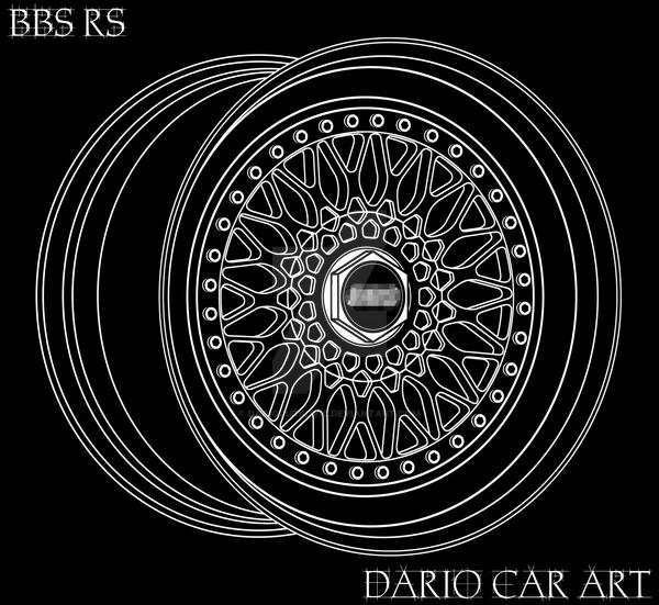 Rs Wallpaper: BBS RS 3D Line Art By DarioJurkovic On DeviantArt