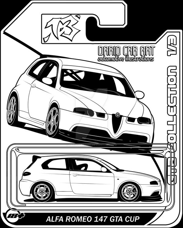 Alfa Romeo 147 Gta Cup Diecast By Dariojurkovic On Deviantart