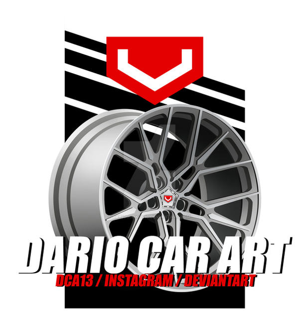 VOSSEN MX3 Vexel / Dario Car Art / DCA13 by DarioJurkovic