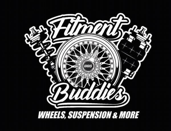 Fitment Buddies Logo / DarioCarArt by DarioJurkovic
