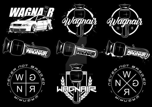 WAGNAIR Sticker Design / DarioCarArt / DCA13 by DarioJurkovic