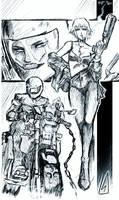 Midnight Rider (City in Chains) by Bonezy-Jones