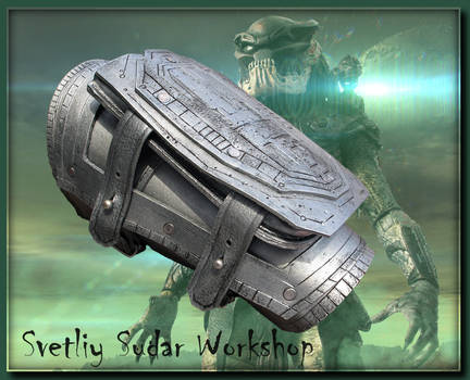 Leather Bracer-cover Predator